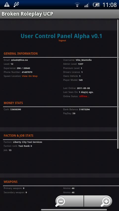 B:RP UCP- screenshot
