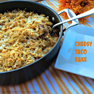 Cheesy Taco Bake.