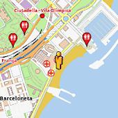 Barcelona Amenities Map