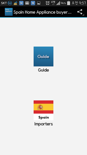 Spain Home Appliance buyer