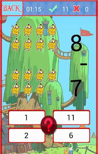 Finn Adventure Easy Math Game