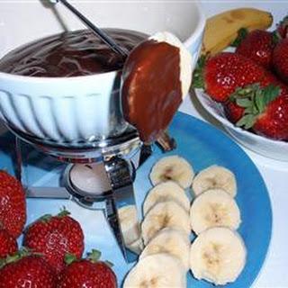 Amarula Chocolate Fondue