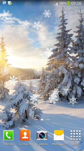 冬のアニメーションの壁紙