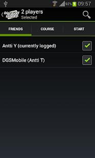 DGSMobile - DiscGolfScores- screenshot thumbnail