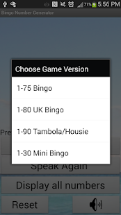 Bingo Number Generator - screenshot thumbnail