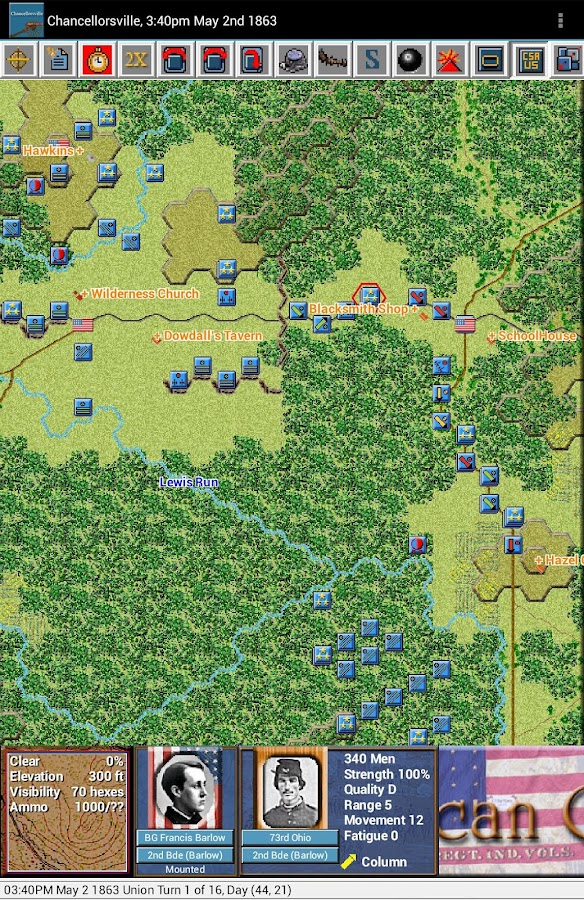 Civil War - Chancellorsville- screenshot