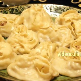Manti (Steamed dumplings)