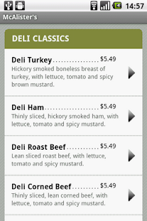 McAlister's Deli - screenshot thumbnail