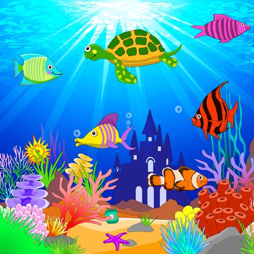水族馆海底世界动态壁纸 FREE (PRO) 個人化 App LOGO-APP開箱王