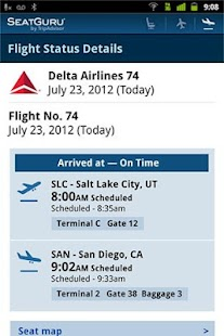 SeatGuru: Maps+Flights+Tracker Screenshot 11