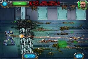 Screenshot of Soldier vs Aliens