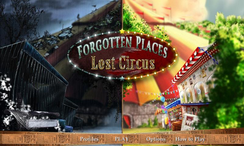 Forgotten Places: Lost Circus (Full) Screenshot
