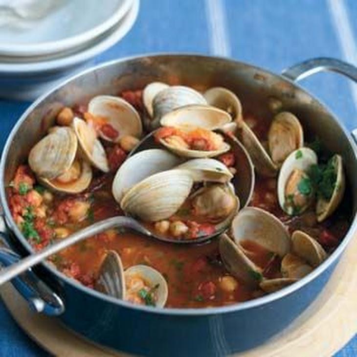 Portuguese Clam and Sausage Stew Recipe