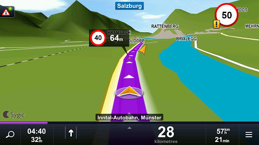 Sygic Aura Drive 2.1.3 [RUS][Android] (2011)