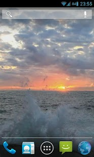 玩個人化App Ocean Sunrise Live Wallpaper免費 APP試玩