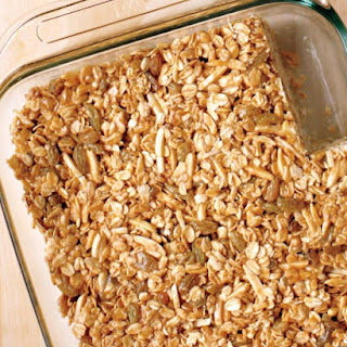 Emeril's Nutty Granola Bars.