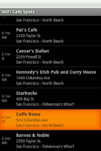 Free WiFi Cafe Spots- screenshot thumbnail