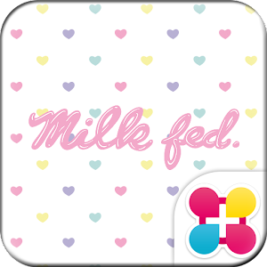 MILKFED. HEART for +HOMEきせかえ Icon