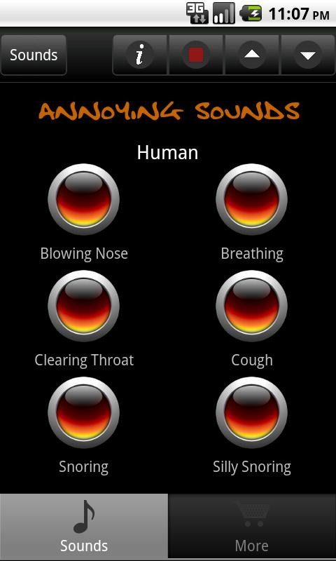 Annoying Sounds & Noises - screenshot