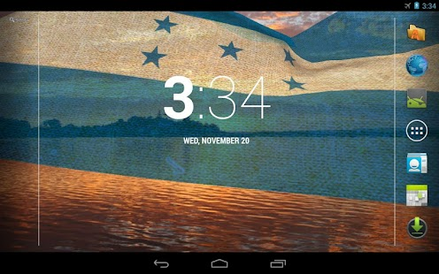 3D Honduras Flag LWP + - screenshot thumbnail