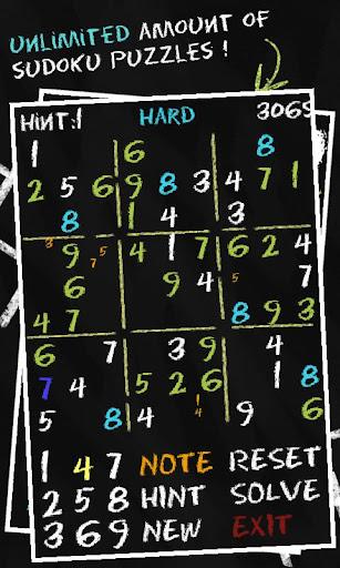 Sudoku Chalk