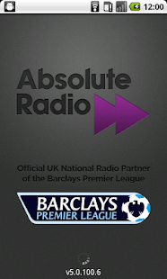 Live Scores - Absolute Radio - screenshot thumbnail