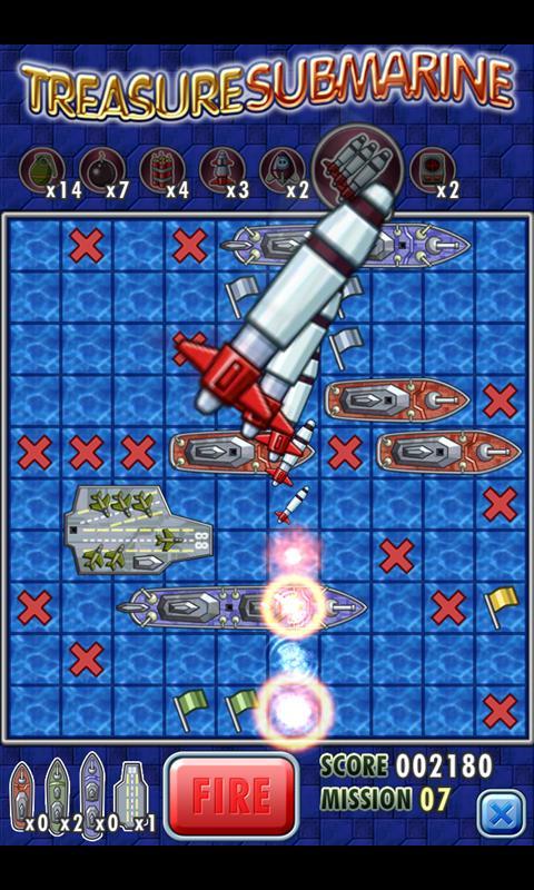 Treasure Submarine- screenshot