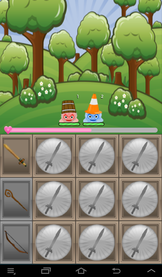 Puzzle Warriorz - screenshot
