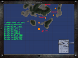 Screenshot of Battleship Destroyer Lite
