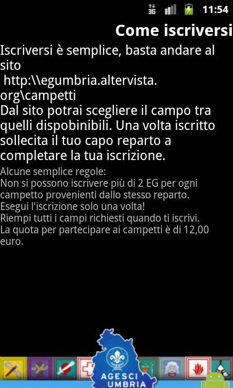 Campi Specialità Umbria 2012- screenshot
