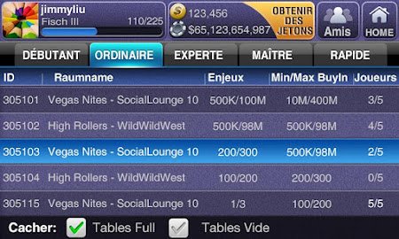 Texas Poker Deluxe Français 1.1.5 screenshot 7597