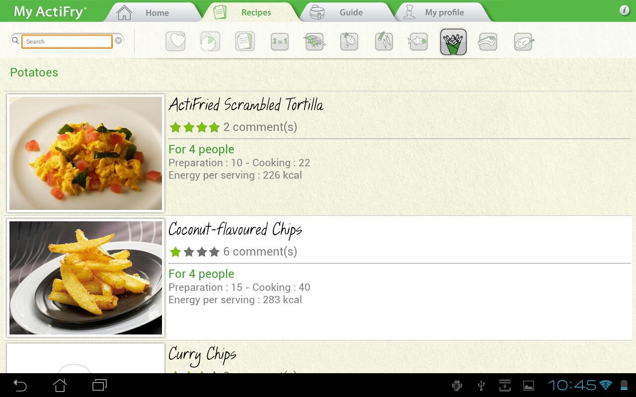 My ActiFry - Android Apps on Google Play