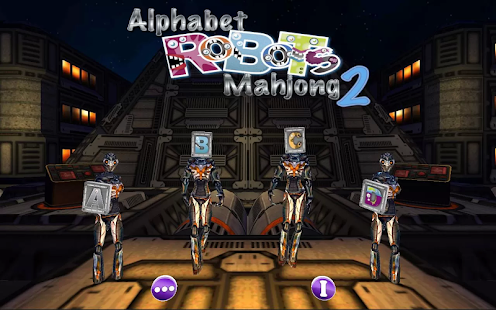 Alphabet Robots Mahjong 2 - screenshot thumbnail