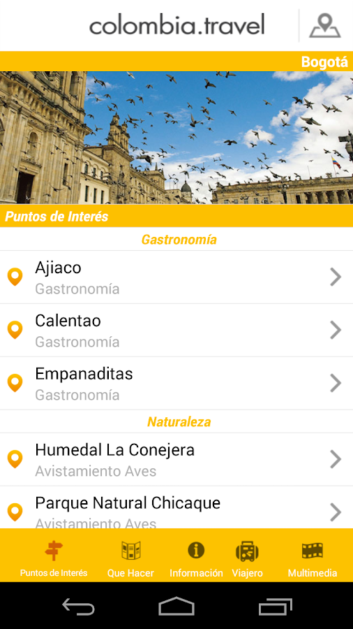 Colombia Travel- screenshot