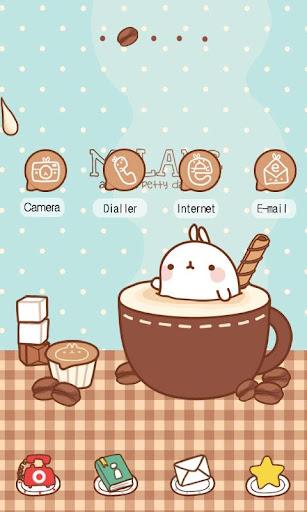 CUKI Themes Molang coffee time