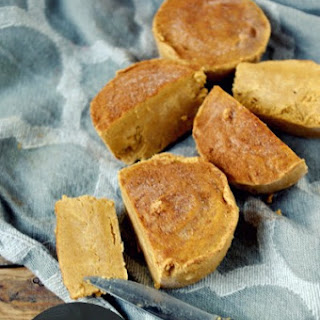 Pumpkin Protein Fudge (gluten free and can be vegan!)