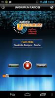 Screenshot of Uyghurum Radiosi