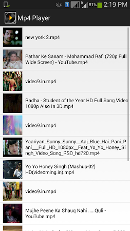 Video Player 1.0 screenshot 145293