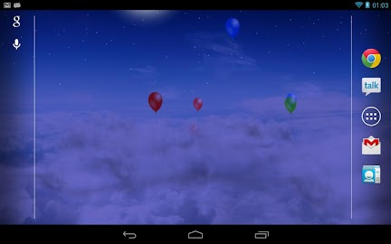 Blue Skies Free Live Wallpaper Screenshot 5