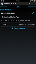 Nandroid Manager * ROOT Screenshot 3