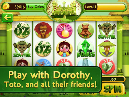 Slots Wizard of Oz 1.0.9 screenshot 38140