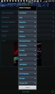 Are you IN: Nightlife Events- screenshot thumbnail