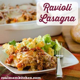Ravioli Lasagna.