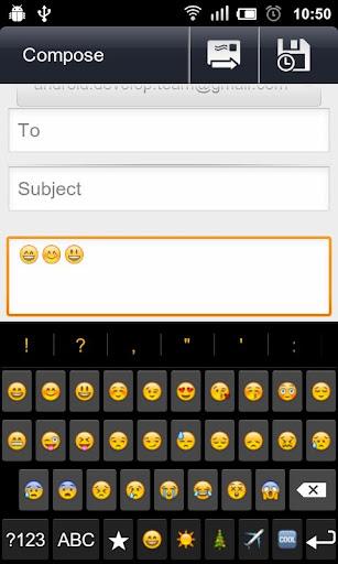 拉丁Emoji鍵盤