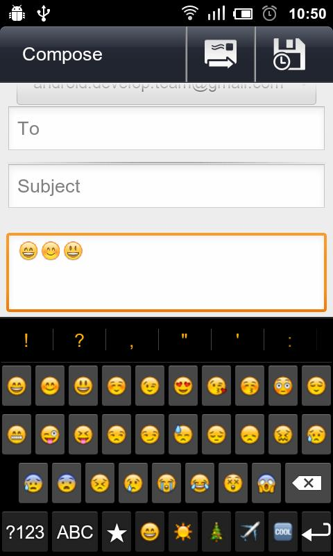 Latin Emoji Keyboard To iPhone - screenshot
