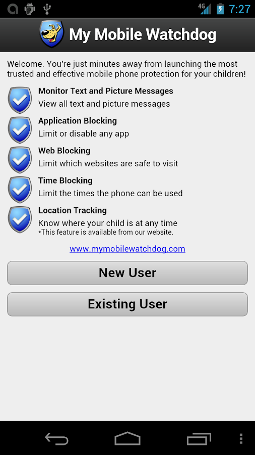 Best Parental Controls Android - screenshot