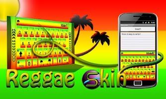 Screenshot of SlideIT Reggae Skin