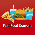 Fast Food Coupons Pizza & More icon