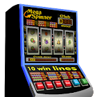 slot machine mega spinner icon