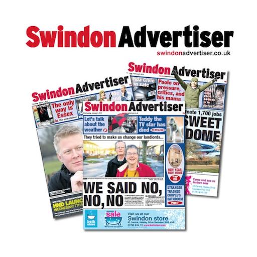 Swindon Advertiser Newspaper
